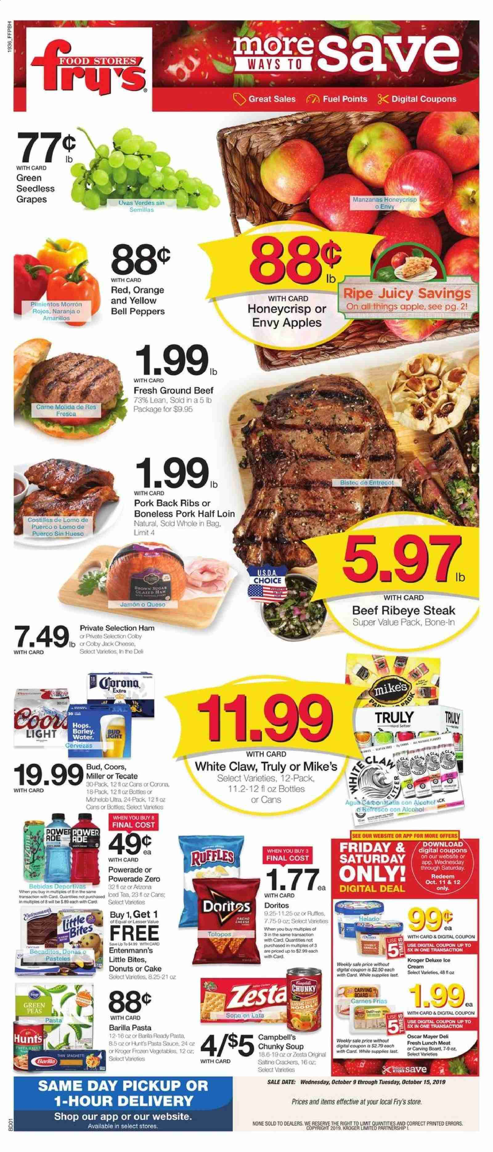 Fry's Flyer  - 10.09.2019 - 10.15.2019. Page 1.