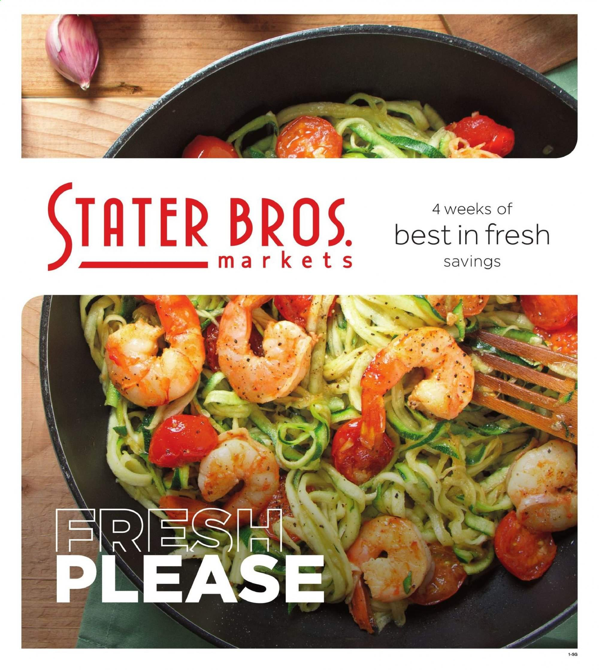 Stater Bros. Flyer  - 10.09.2019 - 11.05.2019. Page 1.