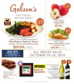 Gelson's Flyer - 10.10.2019 - 10.22.2019.