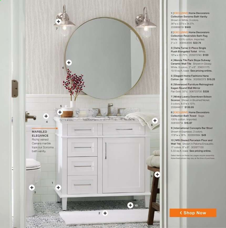 The Home Depot Flyer 10 14 2019 12 29 2019 Weekly Ads Us