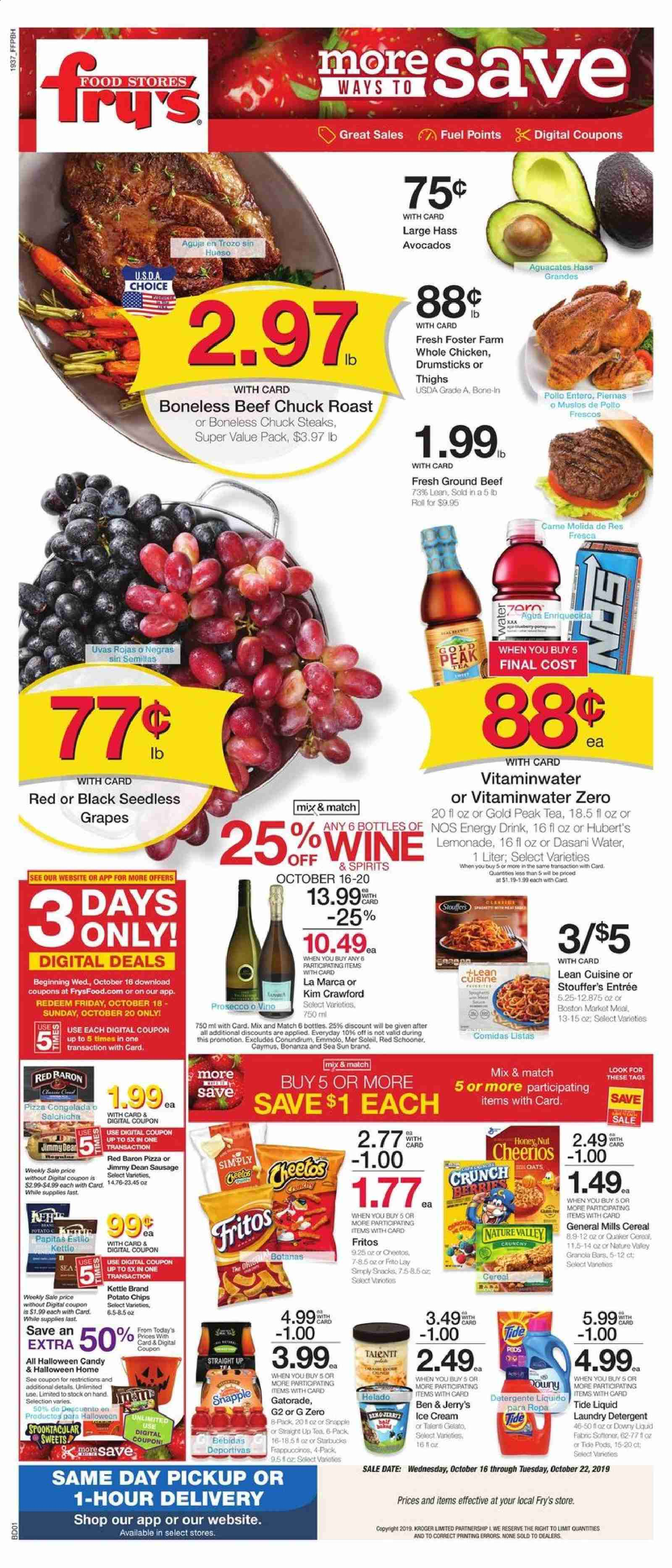 Fry's Flyer  - 10.16.2019 - 10.22.2019. Page 1.