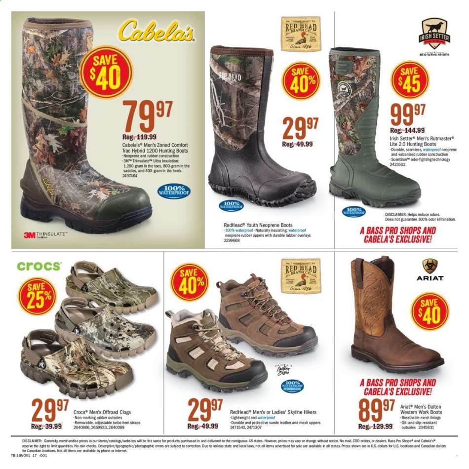 Bass Pro Shops flyer 10.17.2019 11.03.2019 | Weekly
