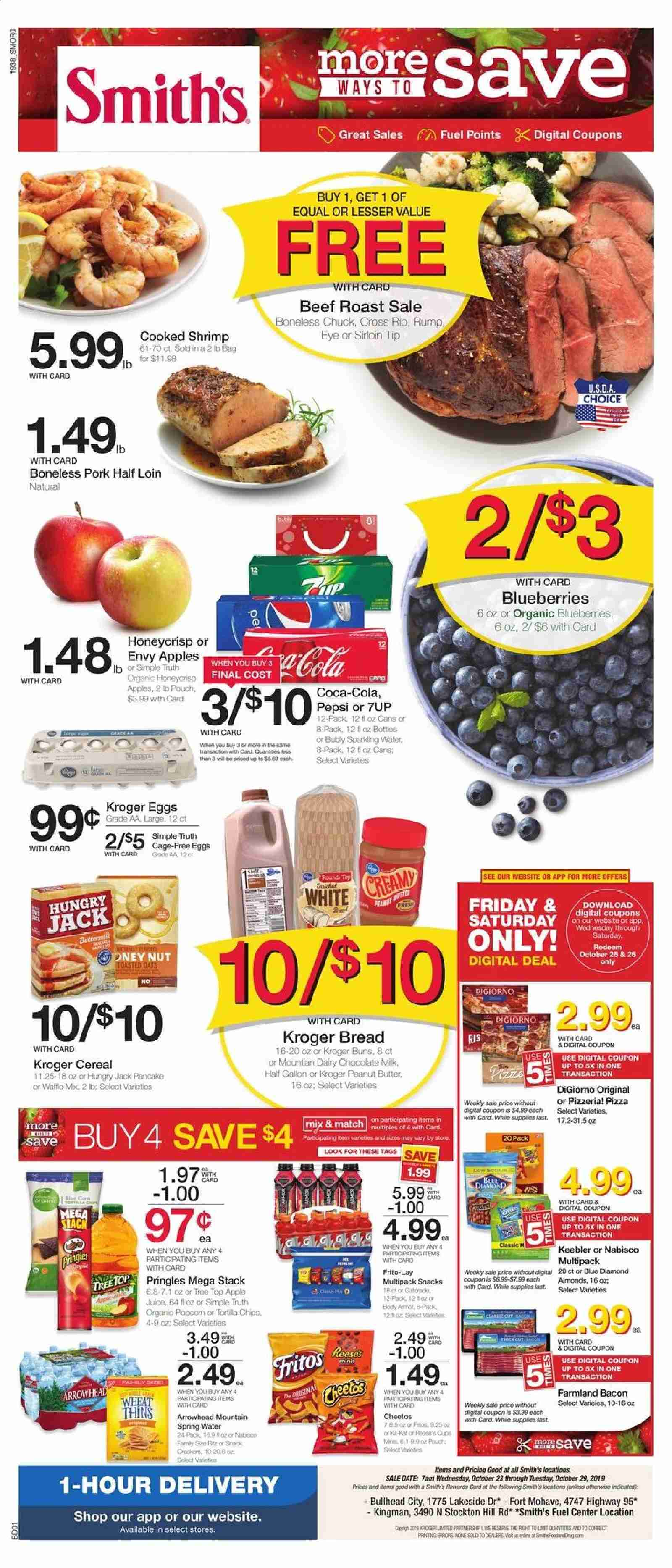 Smith's Flyer  - 10.23.2019 - 10.29.2019. Page 1.