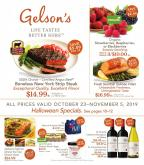 Gelson's Flyer - 10.23.2019 - 11.05.2019.