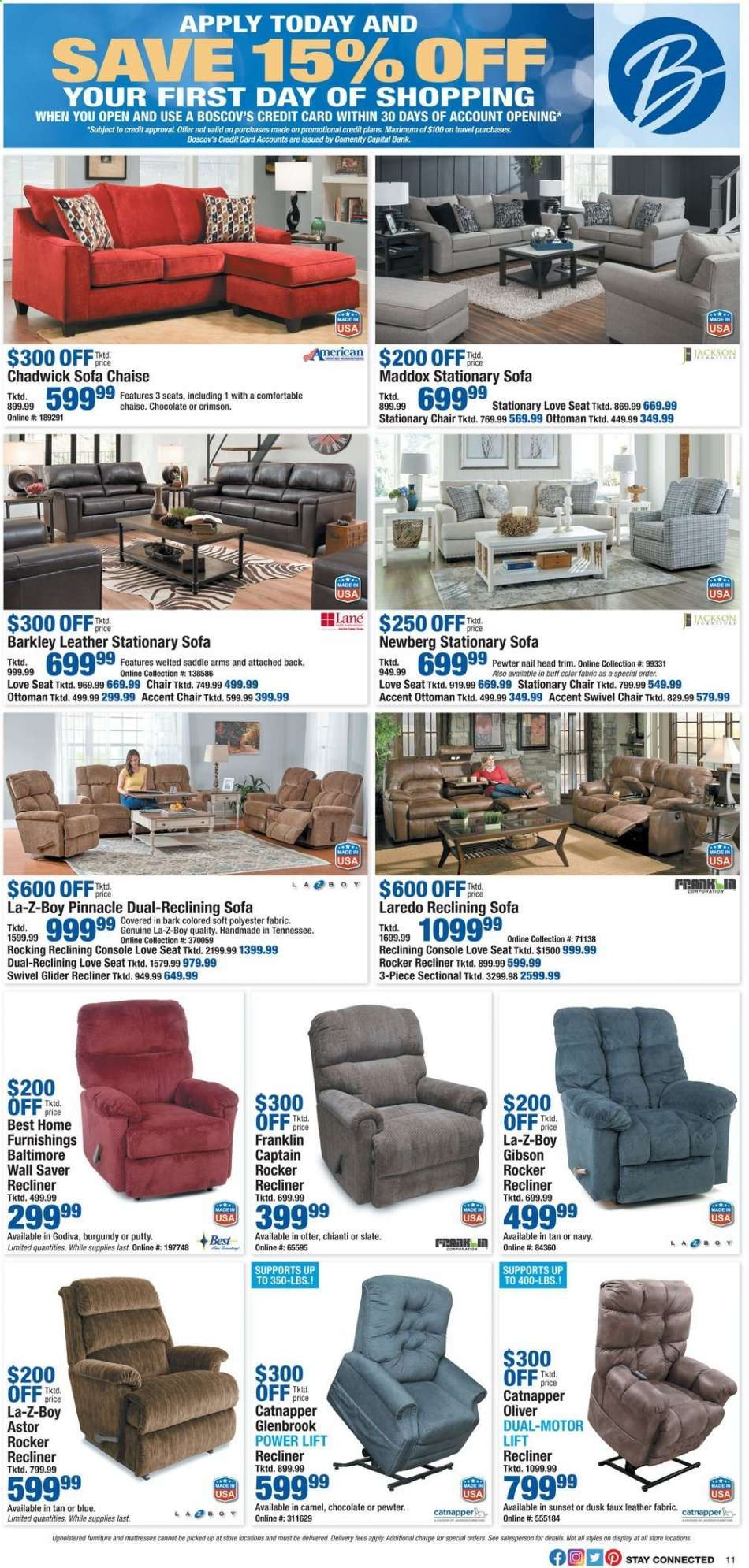 Wondrous Boscovs Flyer 10 24 2019 10 27 2019 Weekly Ads Us Gmtry Best Dining Table And Chair Ideas Images Gmtryco
