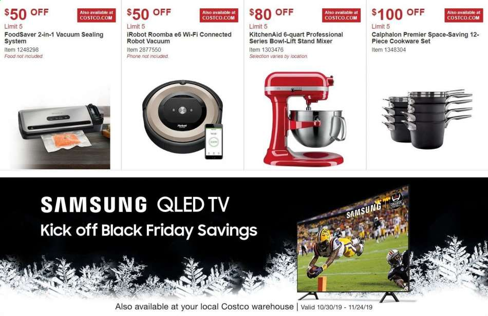 Costco flyer 10.30.2019 - 11.24.2019   Weekly-ads.us