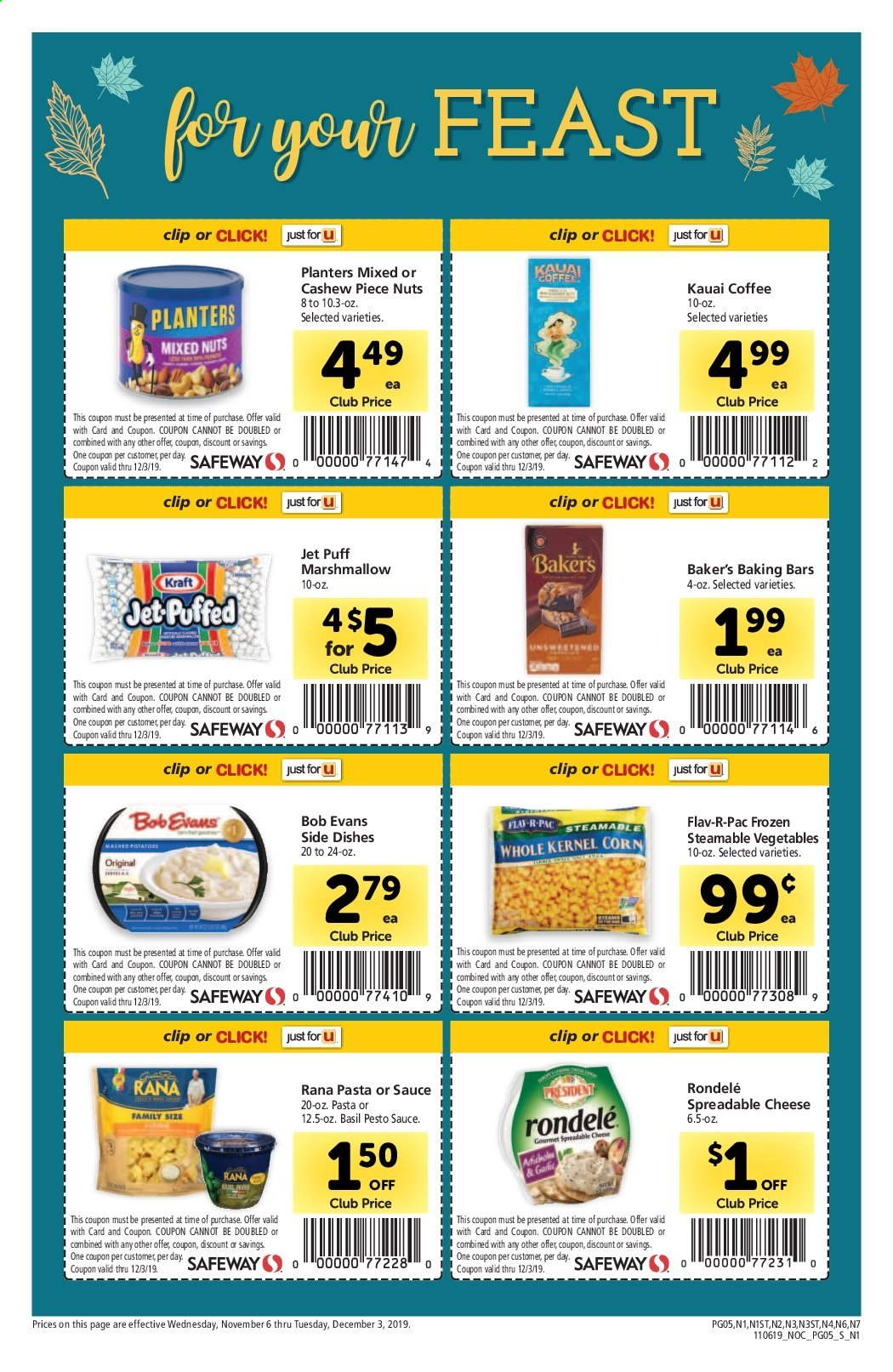 Safeway Flyer 11 06 2019 12 03 2019 Page 5 Weekly Ads