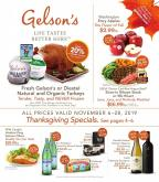 Gelson's Flyer - 11.06.2019 - 11.28.2019.