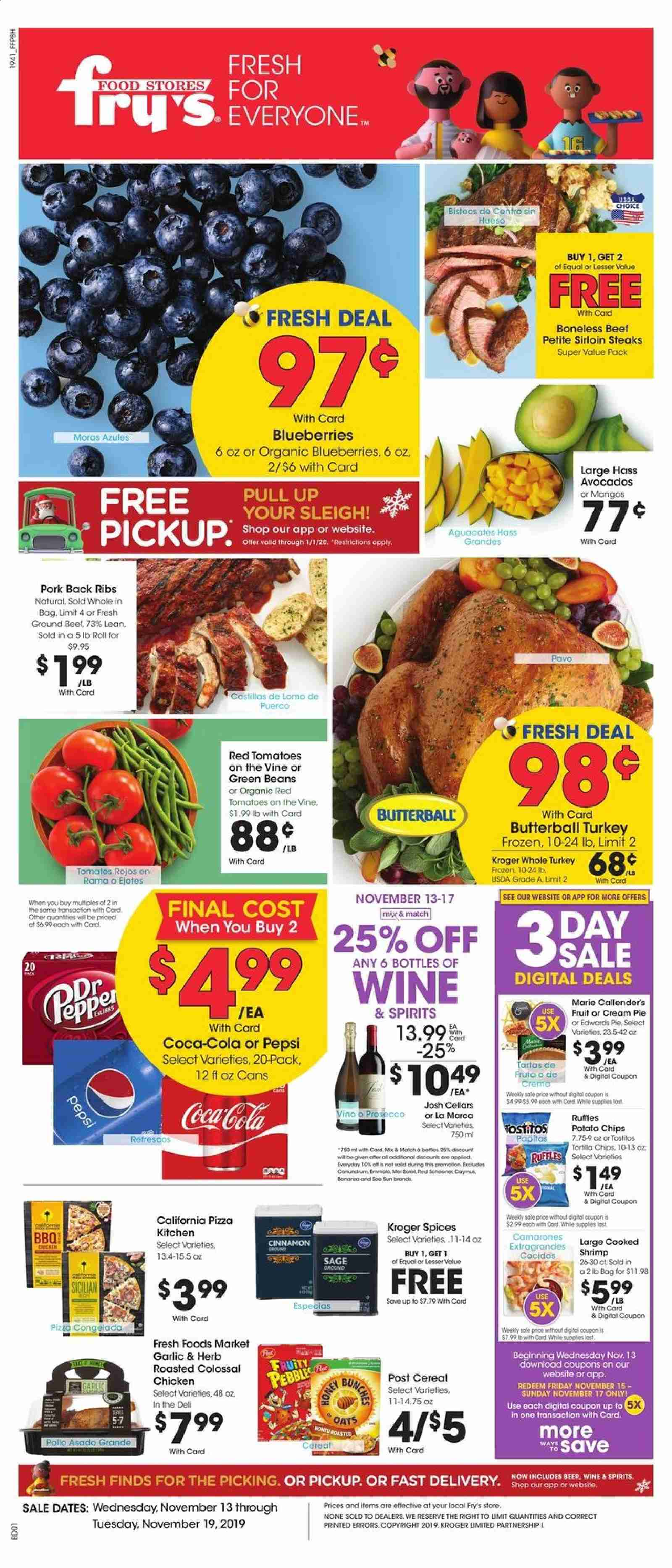 Fry's Flyer  - 11.13.2019 - 11.19.2019. Page 1.
