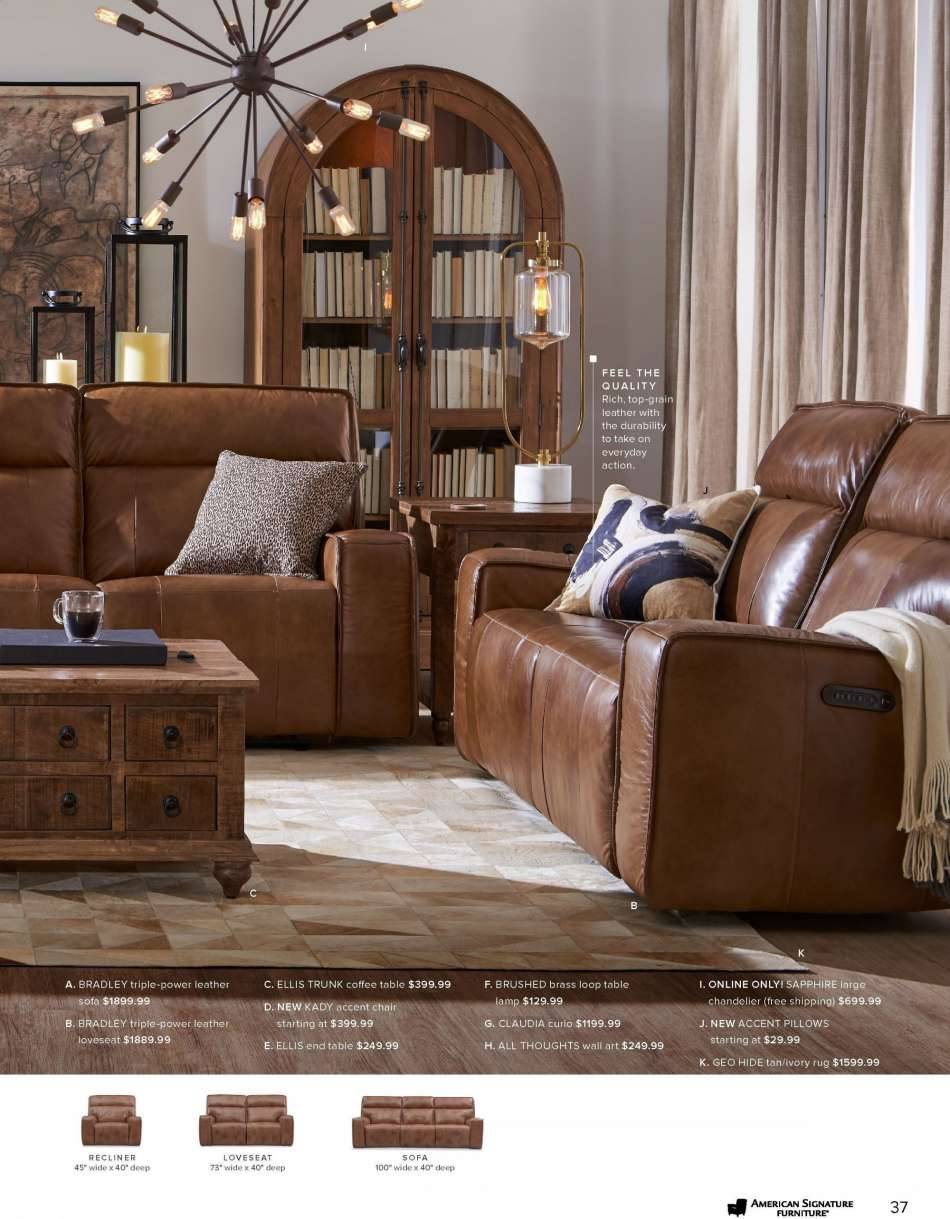 Fabulous American Signature Furniture Flyer Weekly Ads Us Short Links Chair Design For Home Short Linksinfo