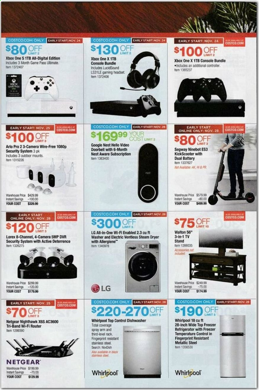Costco Flyer 11 07 2019 12 02 2019 Page 29 Weekly Ads