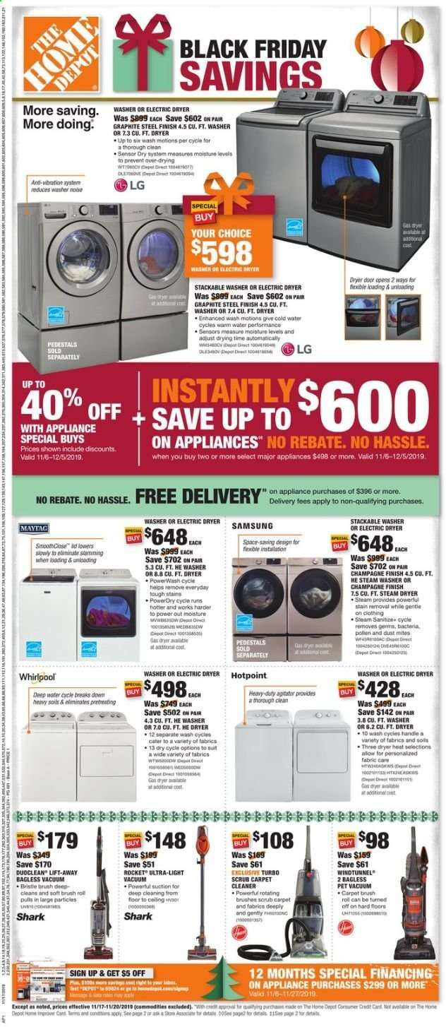 The Home Depot Flyer 11 17 2019 11 20 2019 Weekly Ads Us