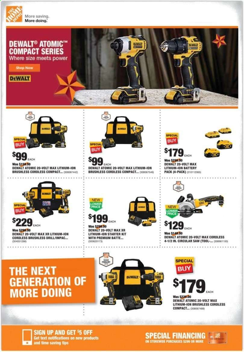 The Home Depot Flyer 11 21 2019 11 28 2019 Weekly Ads Us