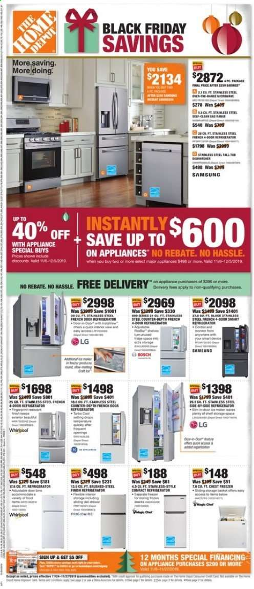 The Home Depot Flyer 11 24 2019 11 27 2019 Weekly Ads Us