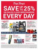 Pep Boys Flyer - 11.25.2019 - 12.29.2019.