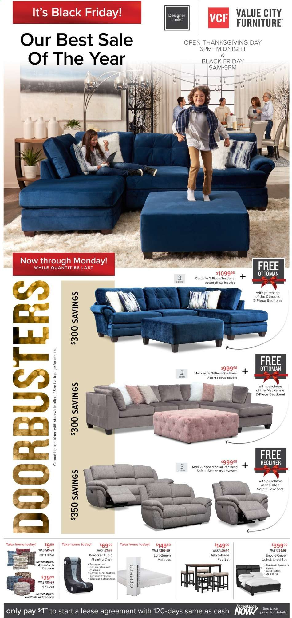 Phenomenal Value City Furniture Flyer 11 27 2019 12 02 2019 Weekly Creativecarmelina Interior Chair Design Creativecarmelinacom