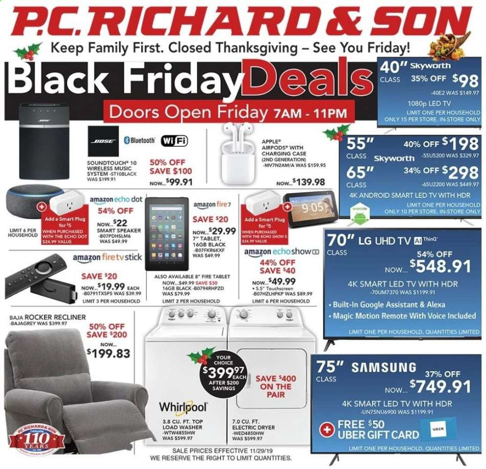Miraculous P C Richard Son Flyer 11 29 2019 11 29 2019 Weekly Ads Us Gamerscity Chair Design For Home Gamerscityorg