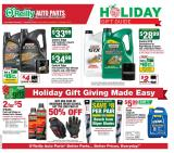 O'Reilly Auto Parts Flyer - 11.27.2019 - 12.24.2019.