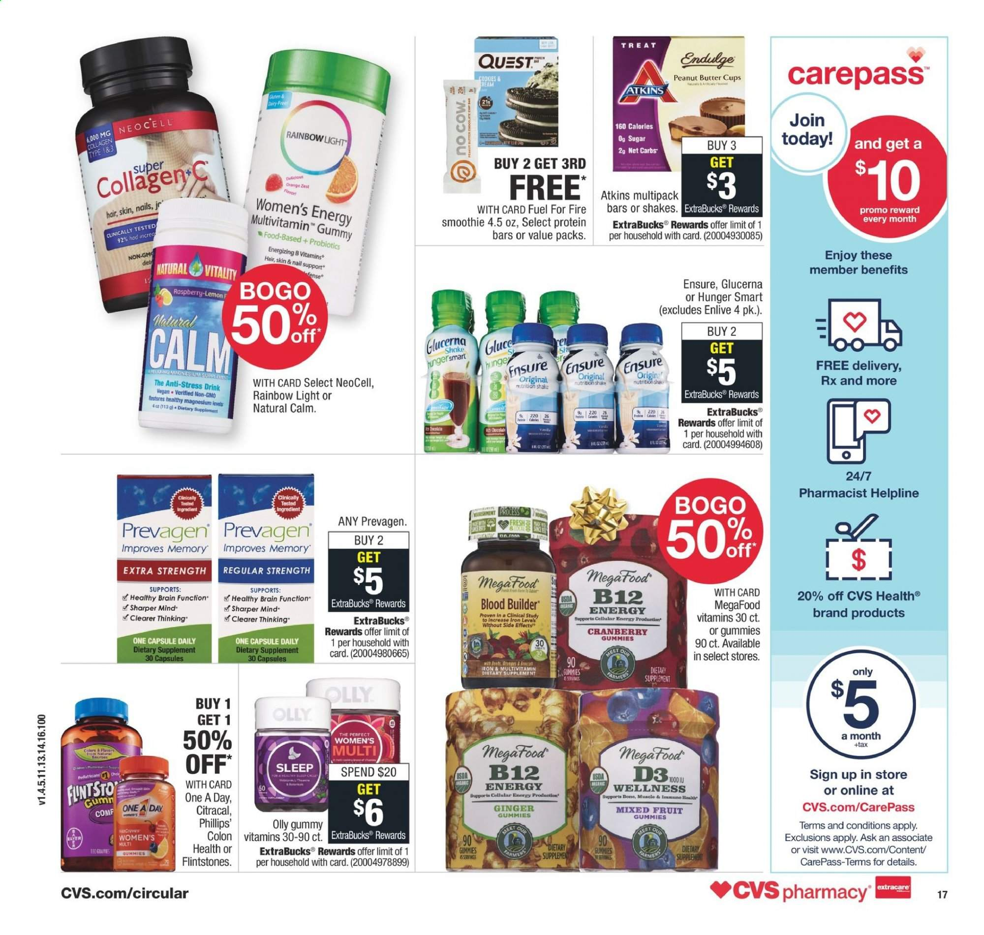 Cvs Pharmacy Flyer 12 01 2019 12 07 2019 Weekly Ads