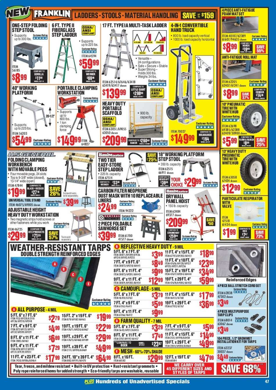 Astounding Harbor Freight Flyer 12 01 2019 12 31 2019 Weekly Ads Us Andrewgaddart Wooden Chair Designs For Living Room Andrewgaddartcom