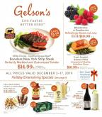 Gelson's Flyer - 12.02.2019 - 12.17.2019.