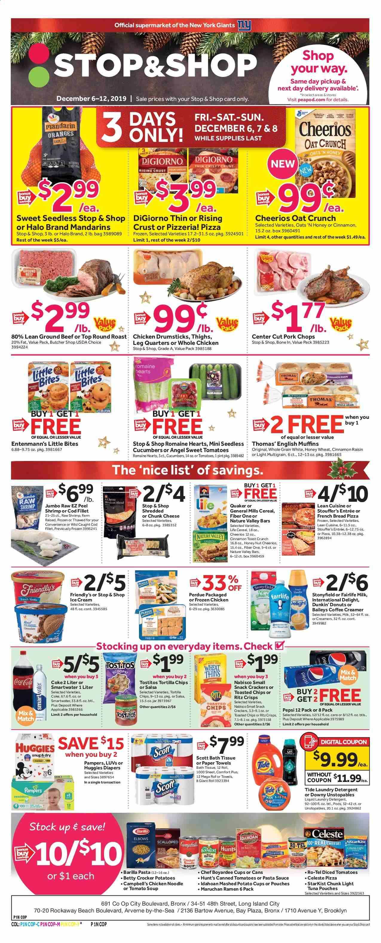 Stop & Shop Flyer  - 12.06.2019 - 12.12.2019. Page 1.