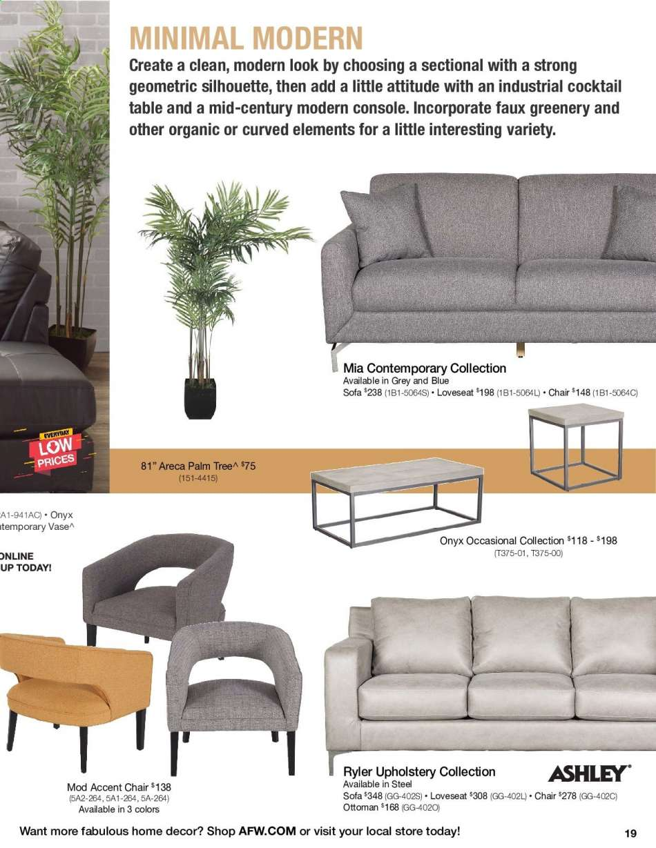 American Furniture Warehouse flyer 10.31.2019 - 12.31.2019 ...