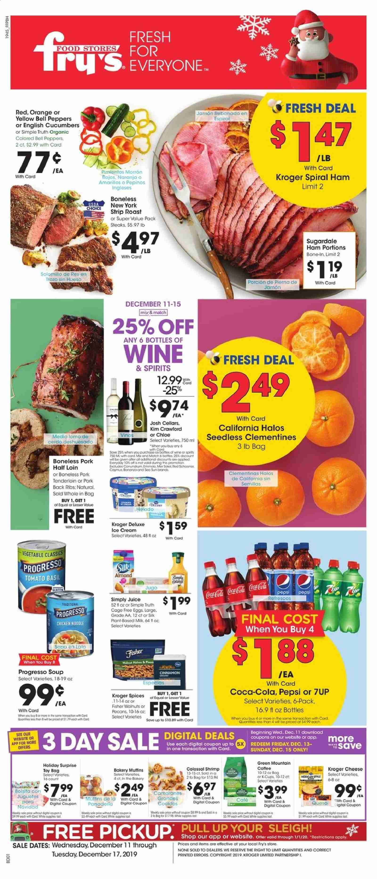 Fry's Flyer  - 12.11.2019 - 12.17.2019. Page 1.