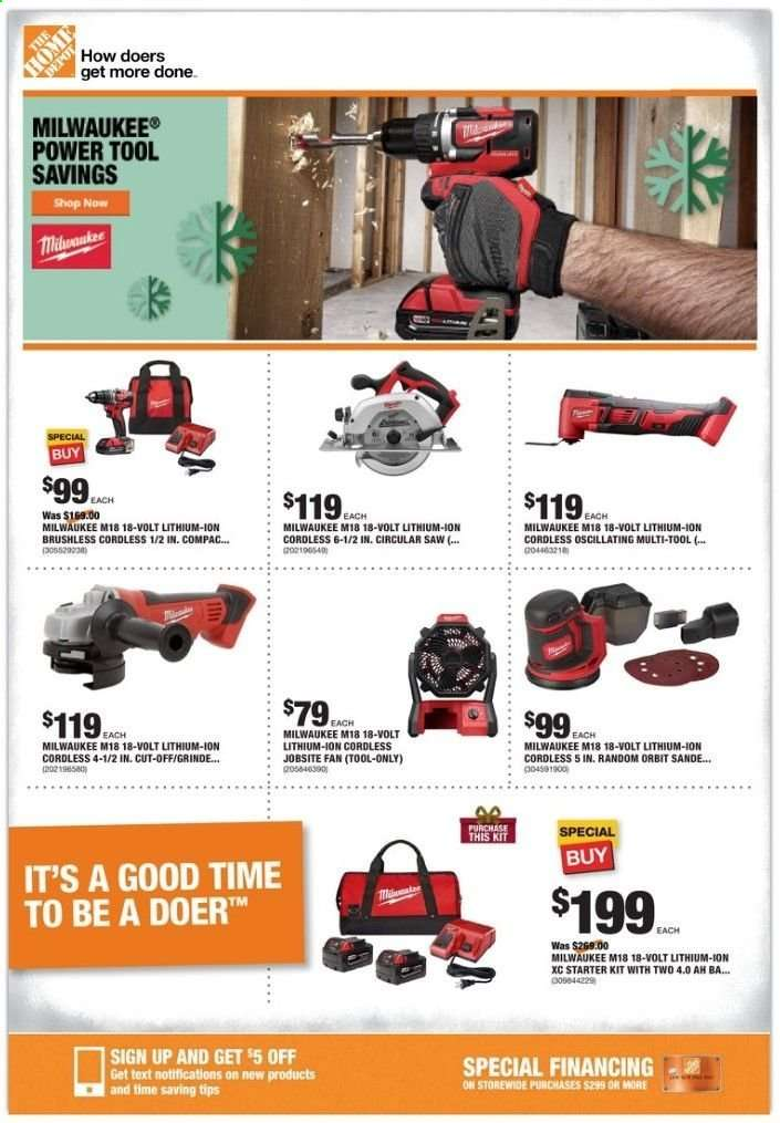 The Home Depot Flyer 12 12 2019 12 19 2019 Weekly Ads Us