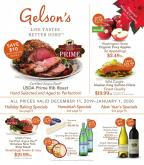 Gelson's Flyer - 12.11.2019 - 01.01.2020.
