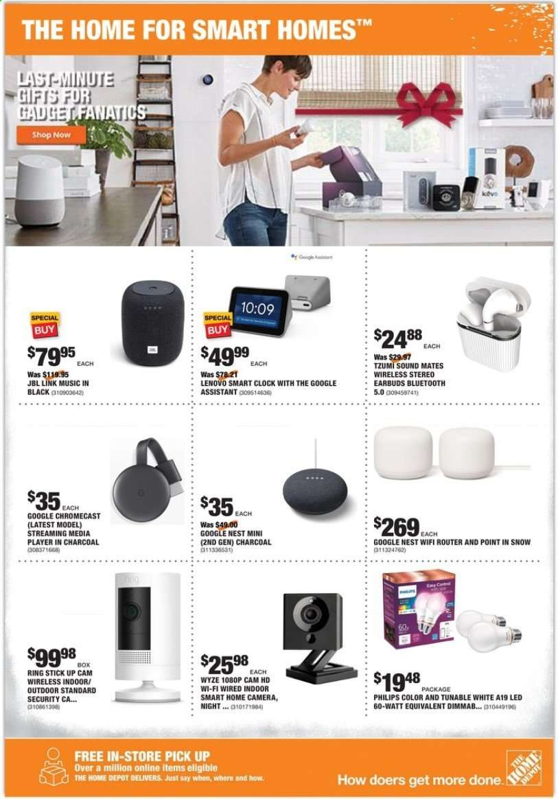 The Home Depot Flyer 12 19 2019 12 26 2019 Weekly Ads Us