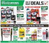 O'Reilly Auto Parts Flyer - 12.25.2019 - 01.28.2020.