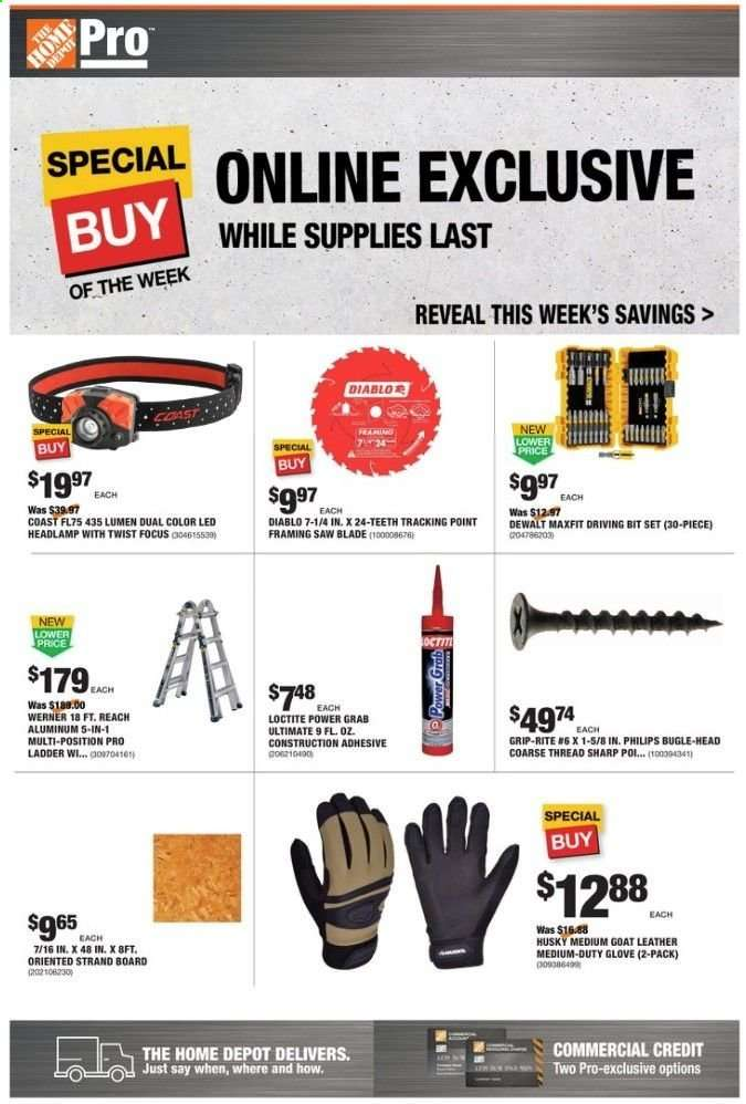 The Home Depot Flyer 12 23 2019 12 30 2019 Weekly Ads Us