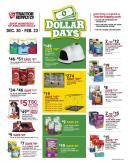 Tractor Supply Co. Flyer - 12.30.2019 - 02.23.2020.