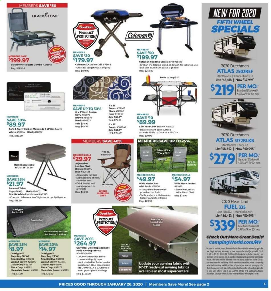 Camping World Council Bluffs >> Camping World Flyer 12 30 2019 01 26 2020 Weekly Ads Us