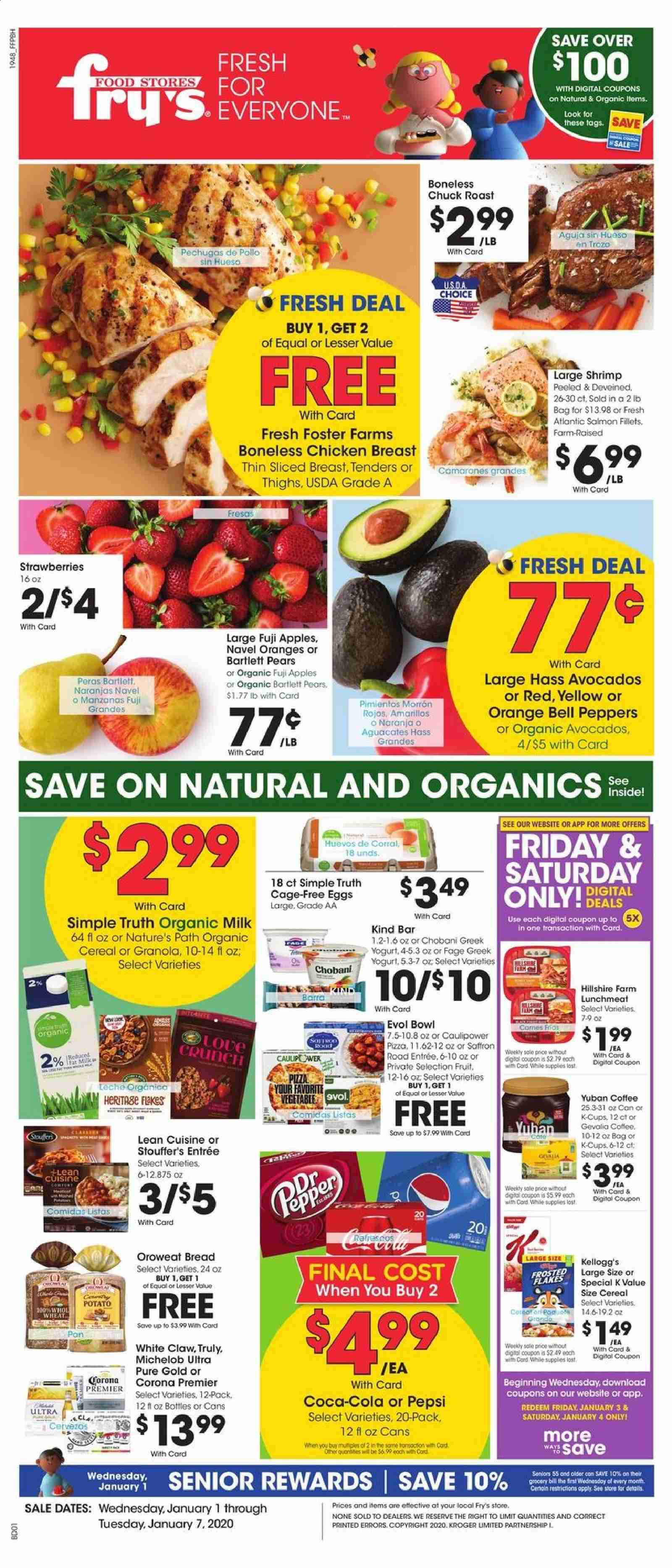 Fry's Flyer  - 01.01.2020 - 01.07.2020. Page 1.