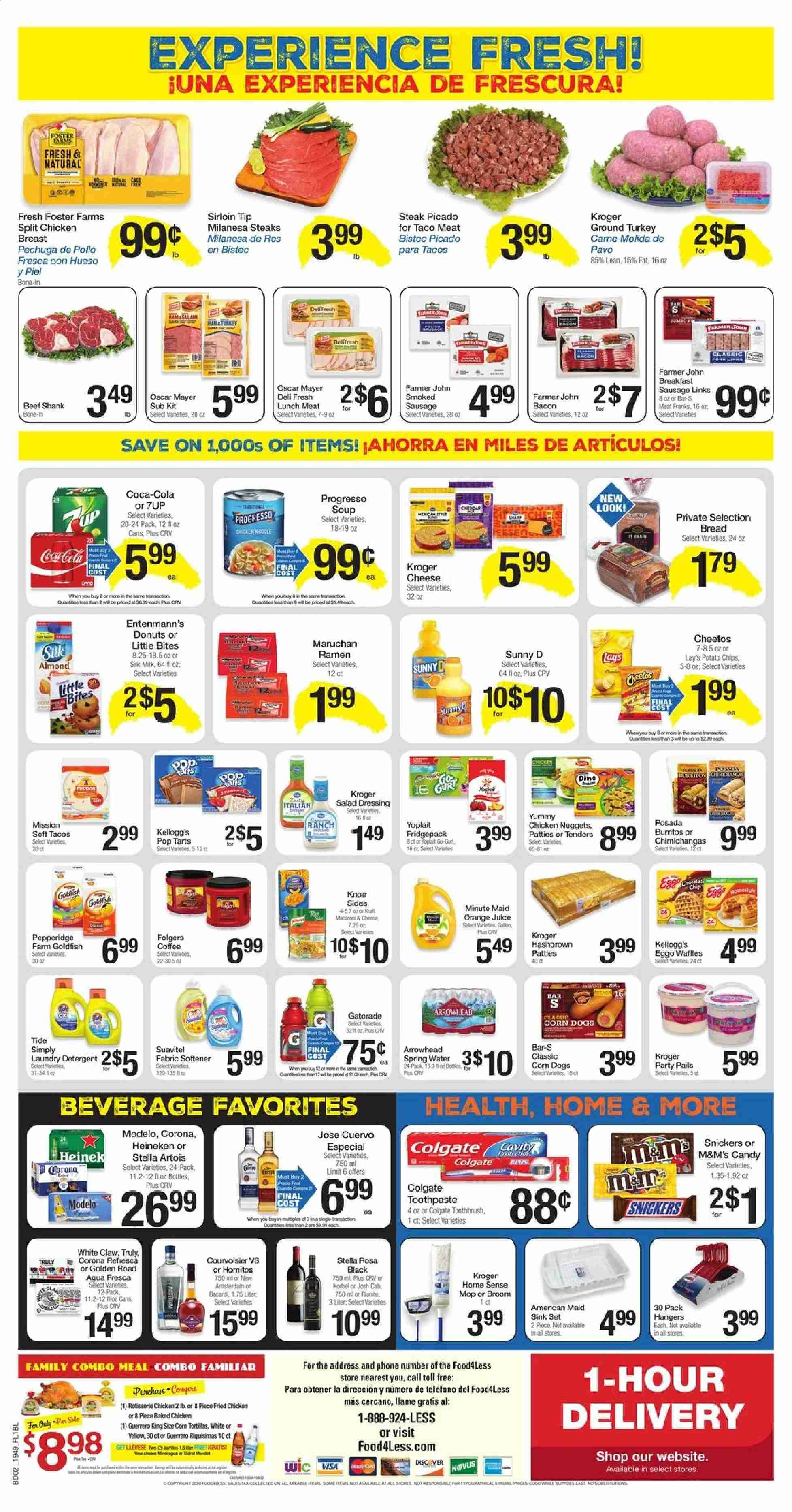 Food 4 Less Flyer  - 01.08.2020 - 01.14.2020. Page 2.