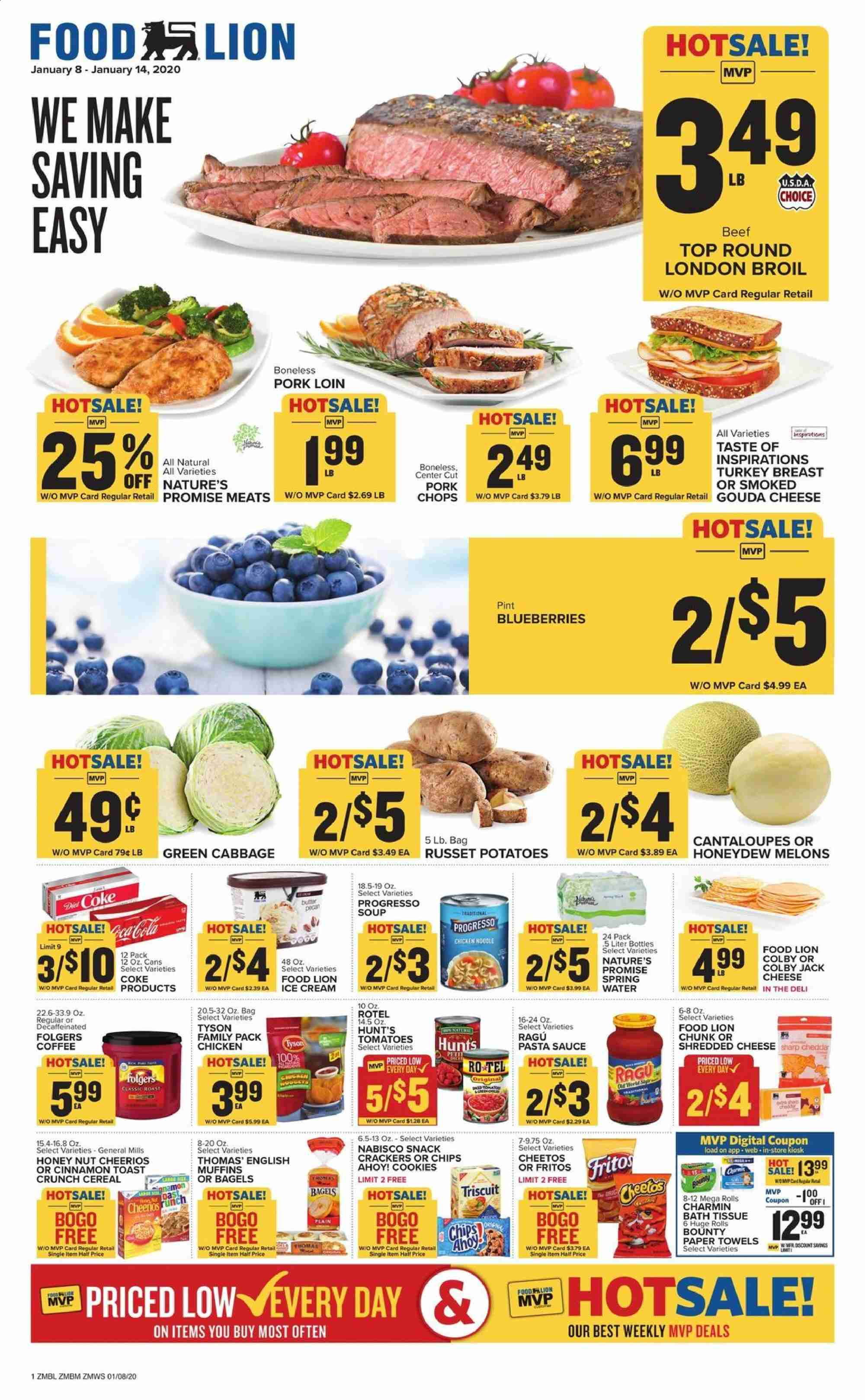 Food Lion Flyer 01 08 2020 01 14 2020 Page 1 Weekly Ads