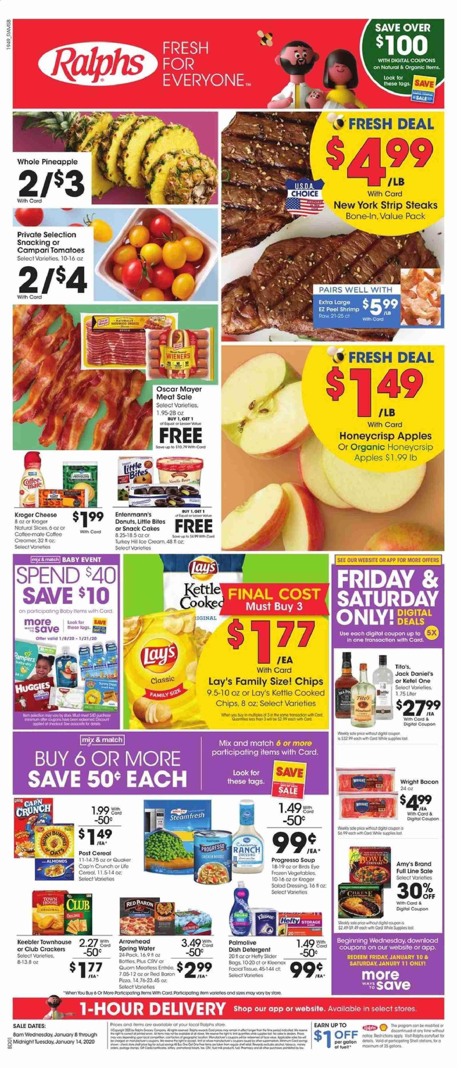 Ralphs Flyer  - 01.08.2020 - 01.14.2020. Page 1.