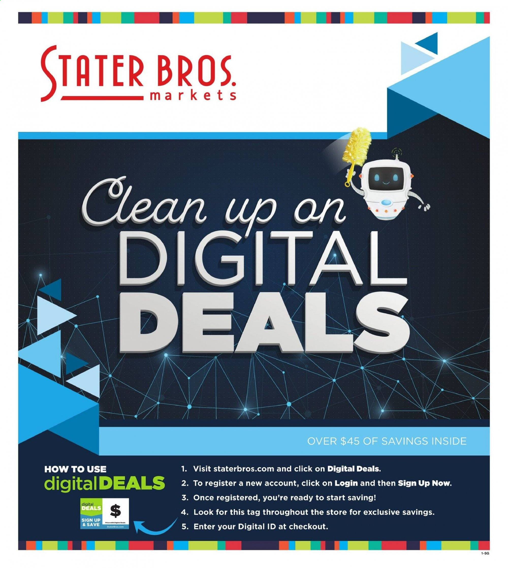 Stater Bros. Flyer  - 01.02.2020 - 01.28.2020. Page 1.