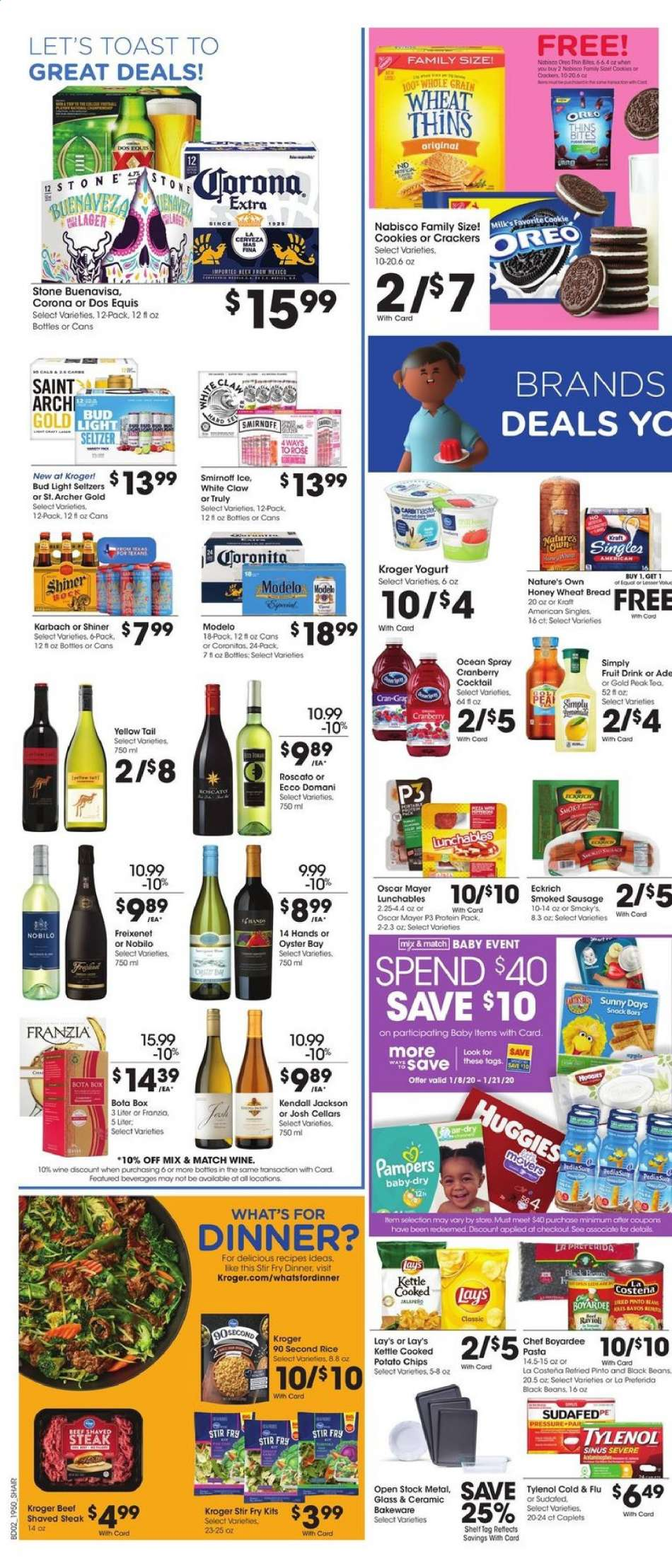 Kroger Carbondale Il >> Kroger Flyer 01 15 2020 01 21 2020 Weekly Ads Us