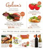 Gelson's Flyer - 01.15.2020 - 01.28.2020.