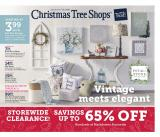 Christmas Tree Shops Flyer - 01.16.2020 - 01.26.2020.