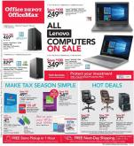 Office DEPOT Flyer - 01.19.2020 - 01.25.2020.