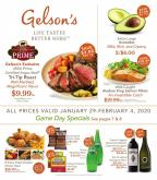 Gelson's Flyer - 01.29.2020 - 02.04.2020.