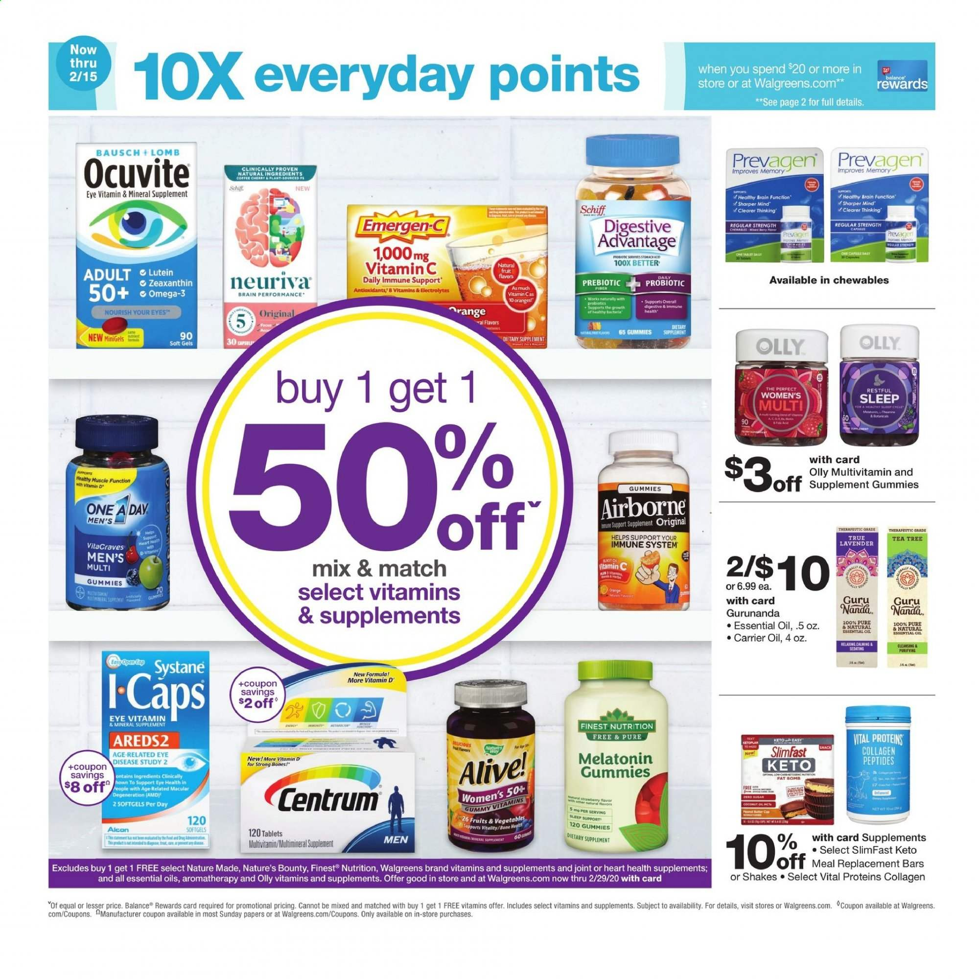 Walgreens Flyer 02 02 2020 02 08 2020 Weekly Ads