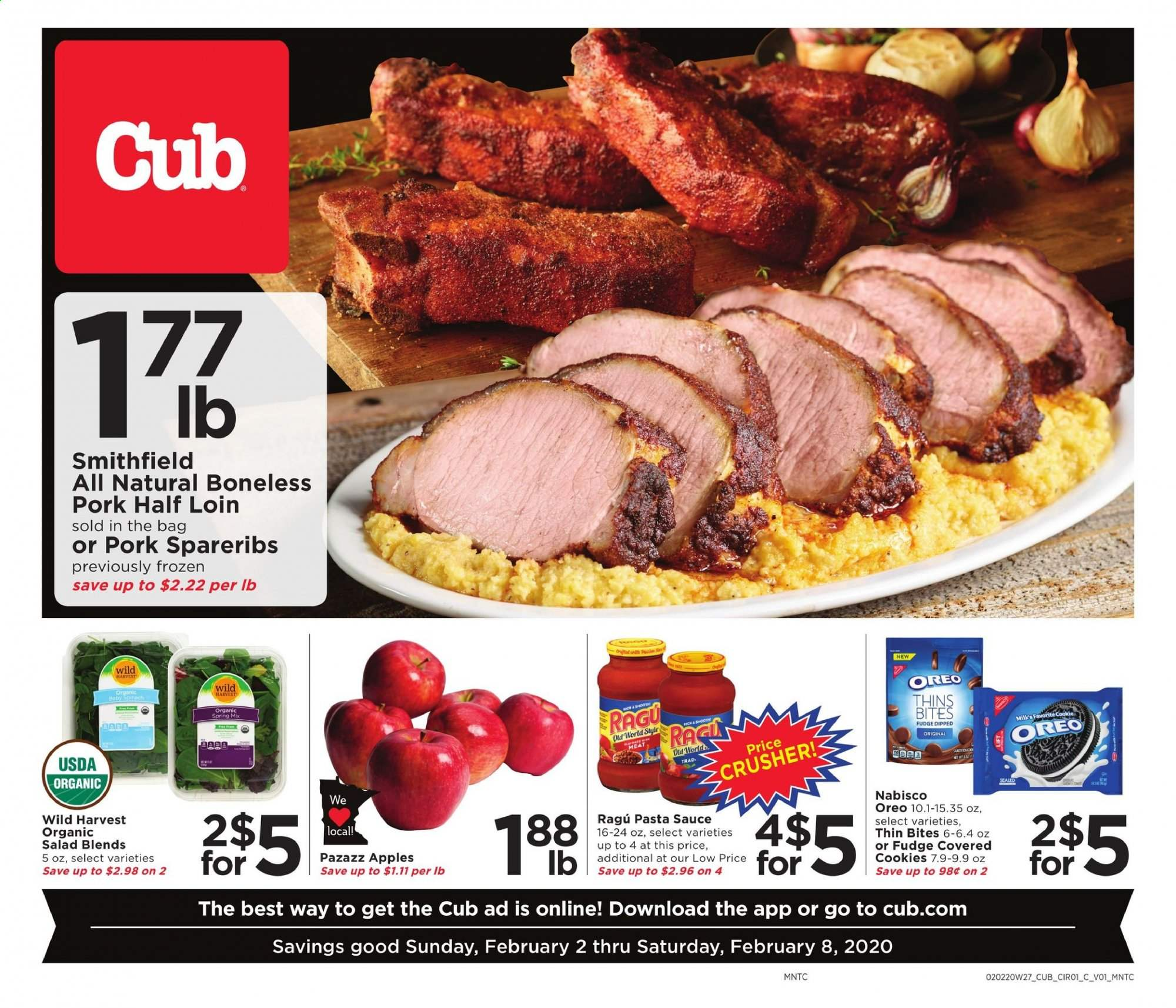 Cub Foods Flyer  - 02.02.2020 - 02.08.2020. Page 1.