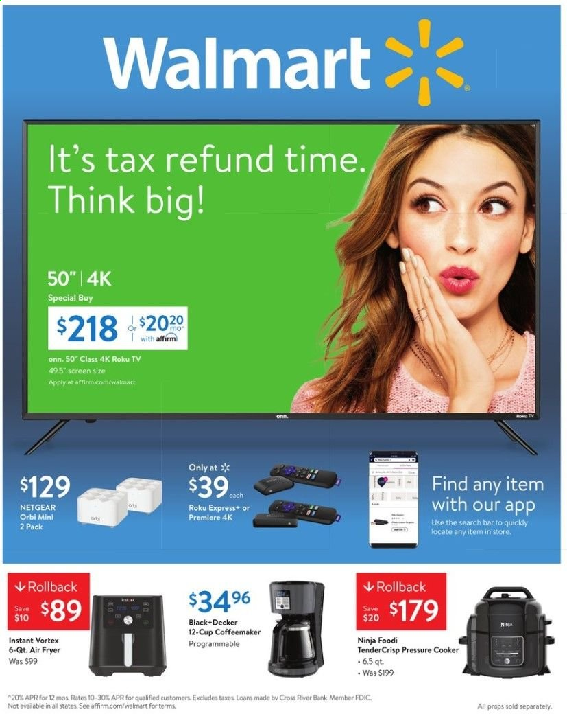 Walmart Flyer  - 02.15.2020 - 02.27.2020. Page 1.