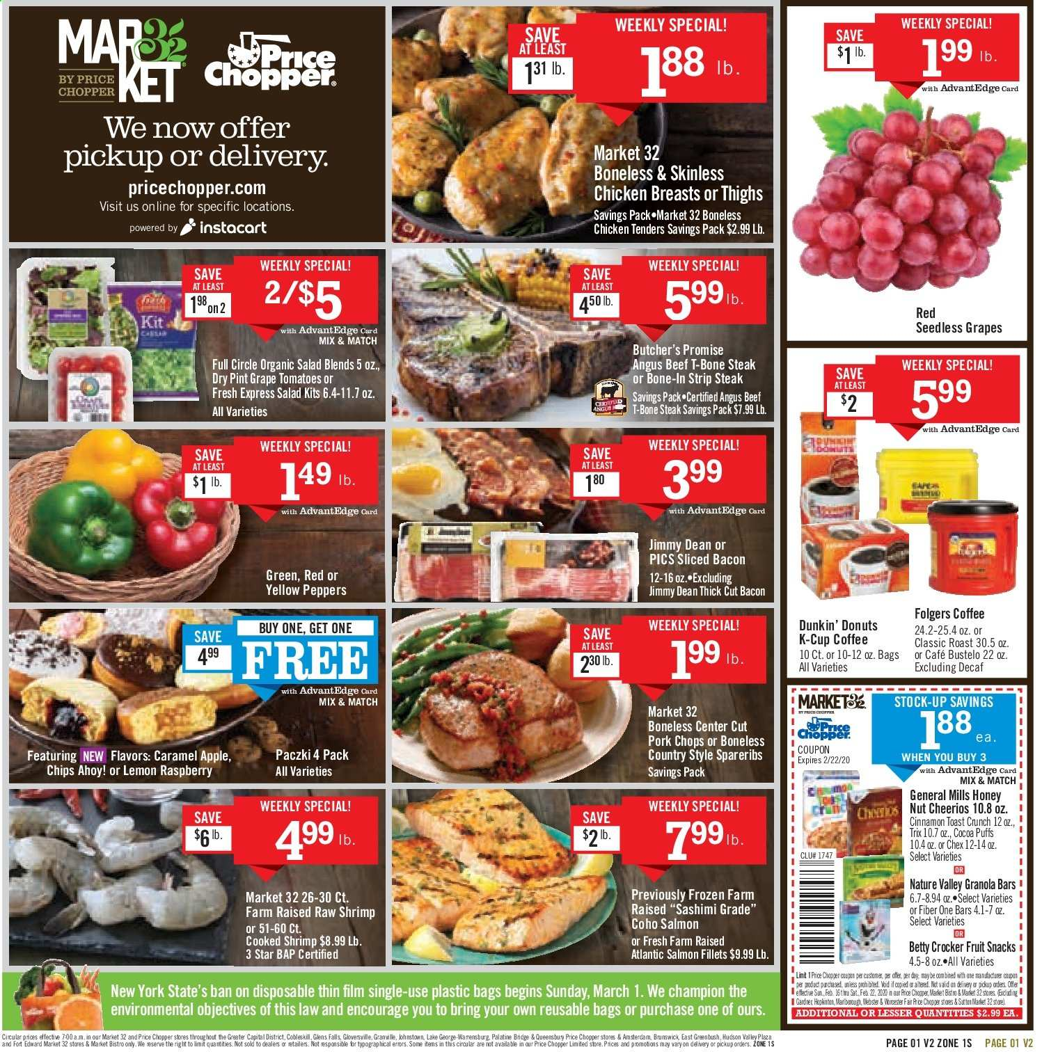 Price Chopper Flyer 02 16 2020 02 22 2020 Page 1 Weekly Ads