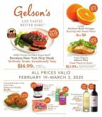 Gelson's Flyer - 02.19.2020 - 03.03.2020.